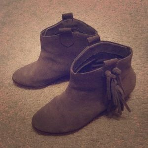 Sole Society Fringe Booties